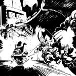 judge dredd_night explosion_rebellion_2000AD_roger Mason_scifi comic art_black and white comic_roger mason