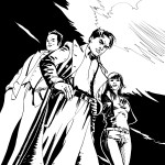 Torchwood comic cover art submission for Titan Books by Roger Mason