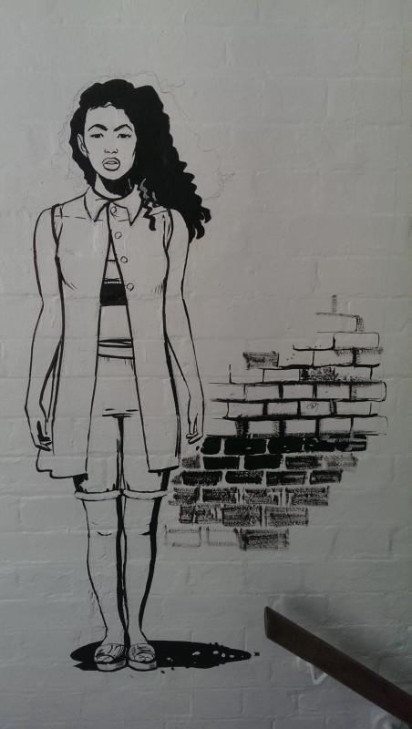 Roger Mason mural Dalston