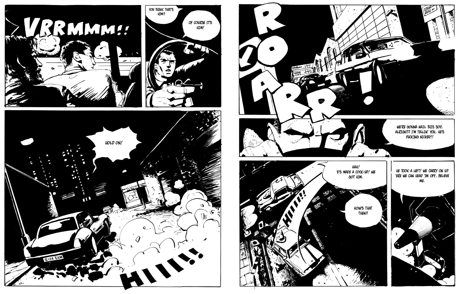 London Inferno (Final)_ENGLISH_roger mason_pages 10 - 11_noir comics_police comics_crime_frank miller