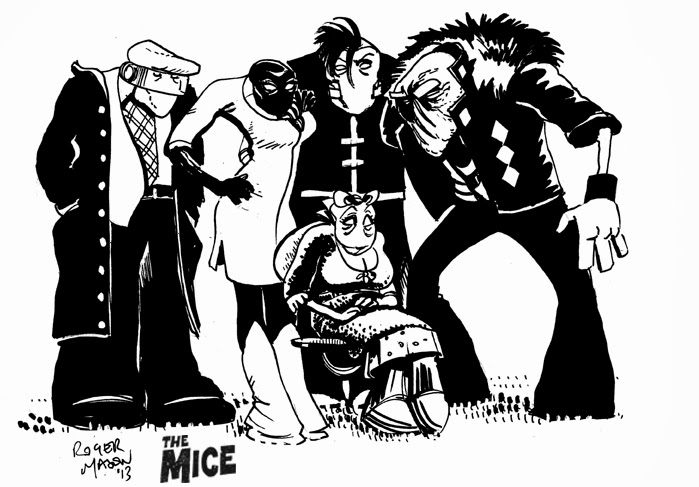 new alien characters from the mice graphic novel roger mason