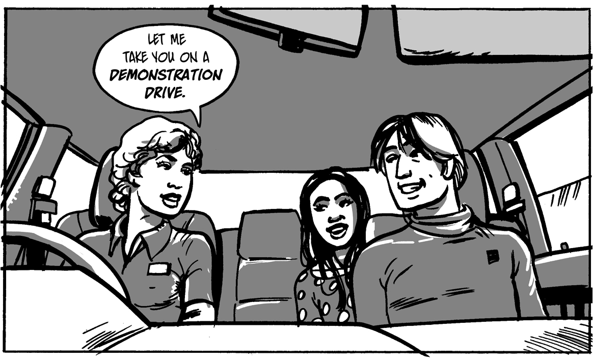 Test drive. Commissioned by Red Cloud Communications. By Roger Mason